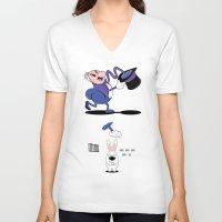 hocus pocus V-neck T-shirts featuring HOCUS POCUS by Zorio