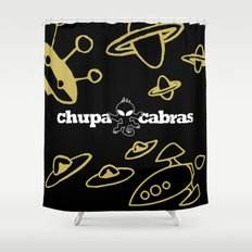 CHUPACABRAS - Gold & Black Edition Shower Curtain