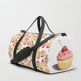 The Perfect Pink Cupcake Duffle Bag