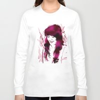 amy hamilton Long Sleeve T-shirts featuring Amy by Abbi Laura