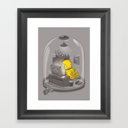 Get a job Framed Art Print