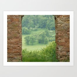 Gate to the Nature Art Print