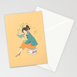 Love to Read Stationery Cards