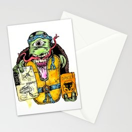 More Mutant Than Turtle Redux Stationery Cards