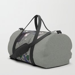 Above the Rooftops Duffle Bag