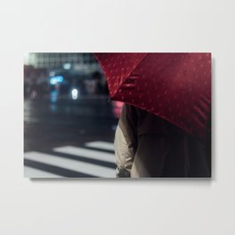 Umbrella - Enchanted by Saul Leiter.and then... Metal Print