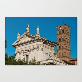 Santa Francesca Romana Church Canvas Print