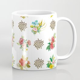 Pretty Floral Boutiques of Flowers Coffee Mug