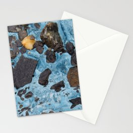 Glacial Gold :: Alaskan Ice Stationery Cards