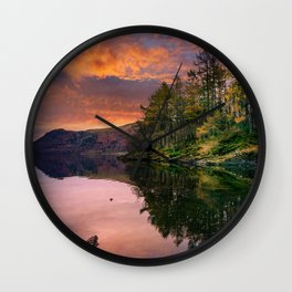 By the Lake Side Wall Clock