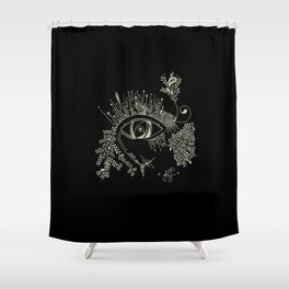 The eye watching you Shower Curtain
