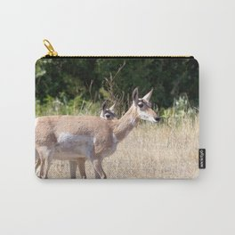 Watercolor Pronghorn Antelope 14, Wyoming Carry-All Pouch