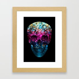 Blendeds IV Skull Framed Art Print