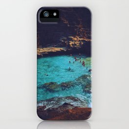 Emerald Sea iPhone Case