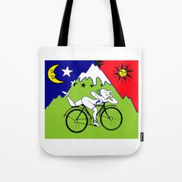 The 1942 Bicycle Lsd Tote Bag