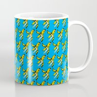 banana Mugs featuring banana by shunsuke art