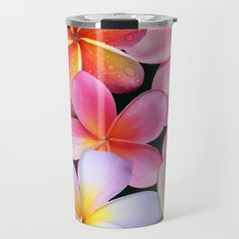 Pink Plumerias Travel Mug