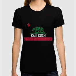 Cali Kush product | Weed | California Cannabis designs T-shirt