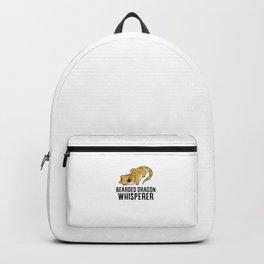 Bearded Dragon Whisperer Backpack