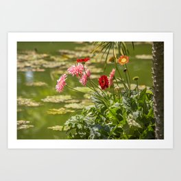 Ho Chi Minh Flora Art Print