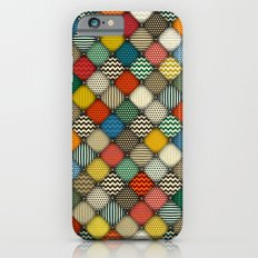 buttoned patches retro iPhone 6s Slim Case