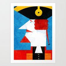 BARON MUNCHAUSEN Art Print