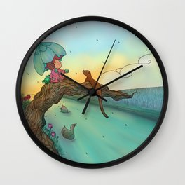 Under cover Wall Clock