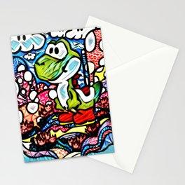 Yoshi Zentangle Stationery Cards