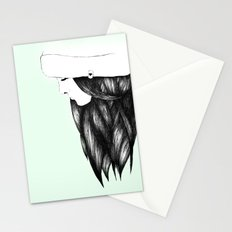 Snow Girl Stationery Cards