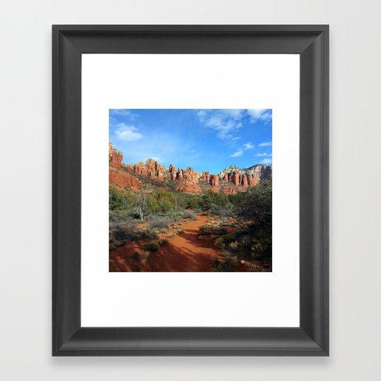 Marg's Draw Framed Art Print