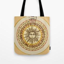 Celestial Chart 1522 Tote Bag