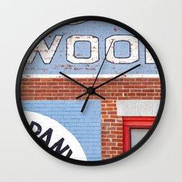 Old Company's Lehigh Detail Wall Clock