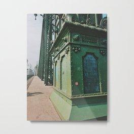 Liberty Bridge, Budapest II Metal Print