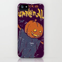 Pumpkin Ale iPhone Case