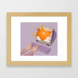 Sun Screen Framed Art Print