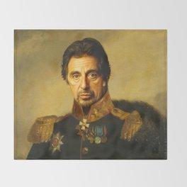 Al Pacino -replaceface Throw Blanket