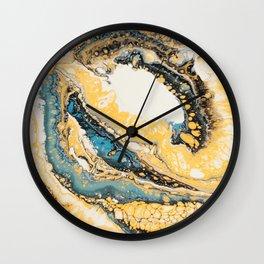 Fluid Loop Wall Clock