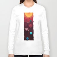 solar system Long Sleeve T-shirts featuring Solar System by badOdds