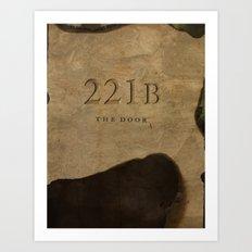 No. 6. 221B Art Print