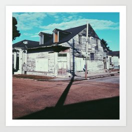 Bywater patina, New Orleans 2013 Art Print