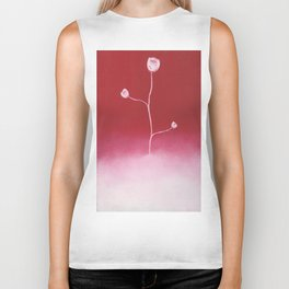 Sprouting Cloud (red) Biker Tank