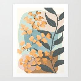 Azzurro Day 03 Art Print