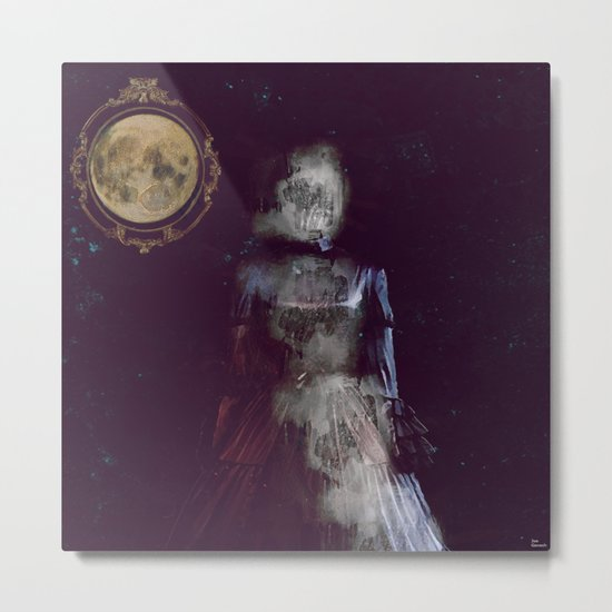 The ghost of miss Parker Metal Print