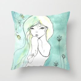 Dite moi! Throw Pillow