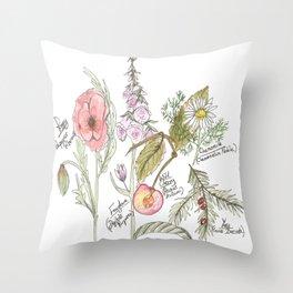 Natures Bounty Throw Pillow