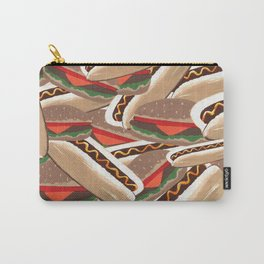 Hot Dogs And Hamburgers Carry-All Pouch