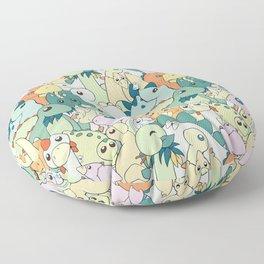 Cute Dino Pattern Floor Pillow