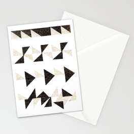 Origami Triangles Stationery Cards