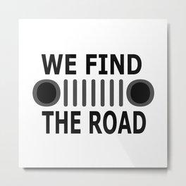 road-J Metal Print