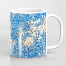 Textures in Blue Coffee Mug